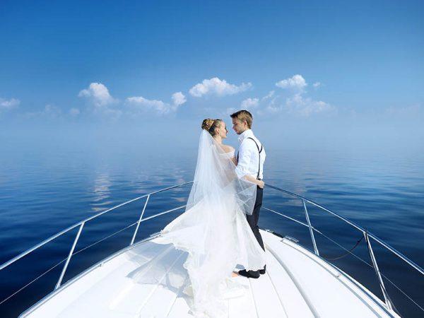 Celebra tu boda en un velero