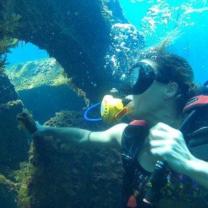 Fin de semana de buceo en Columbretes Islas Columbretes en velero