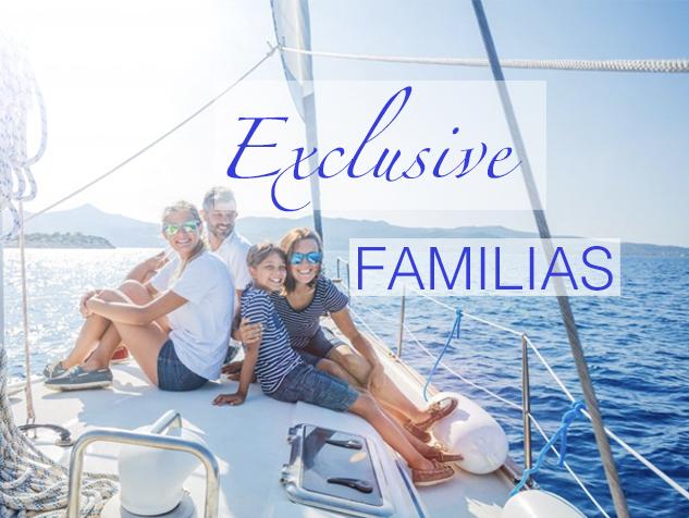 Cruceros exclusivos para familias